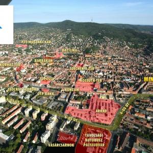 Minerva Park - Pécs, Felsőmalom utca: Élvezze a harmonikus otthon nyújtotta kényelmet a város központjában! pécsen